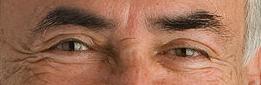 DSK's eyes