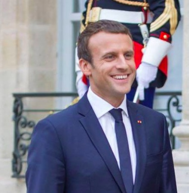 Macron wikipedia